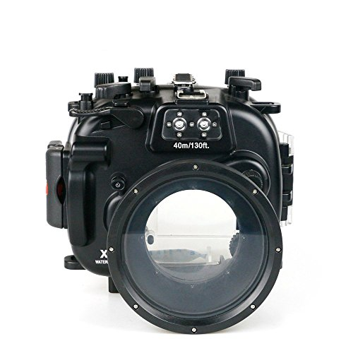 Sea frogs Underwater Case 130FT/40M Camera Diving Waterproof Housing case for Fujifilm XT1 by Sea frogs