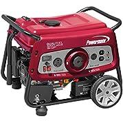 Powermate 6957 3500W Electric Start Dual Fuel Portable Generator