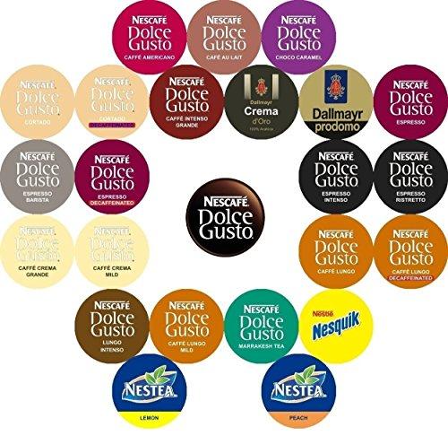 Nescafe - Nescafé Dolce Gusto Variedad (24 sabores, 26 vainas): Amazon.es: Hogar
