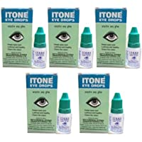 5 X Itone Ayurvedic Herbal Eye Drops Natural