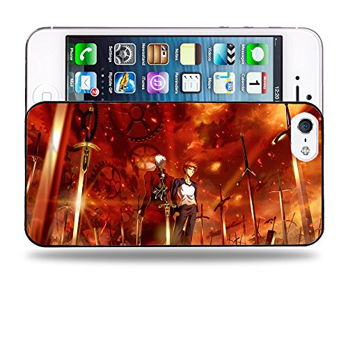 Case88 Designs Fate Stay Night Shir? Emiya & Archer Unlimited Blade Works Protective Snap-on Hard Back Case Cover for Apple iPhone 5 5s