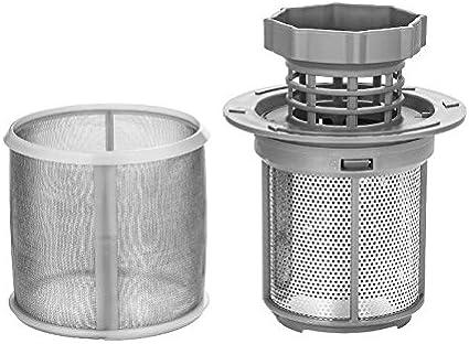 Microfiltro de malla para lavavajillas compatible con lavavajillas Bosch Neff Siemens 427903 170740 SGS SGV SRS