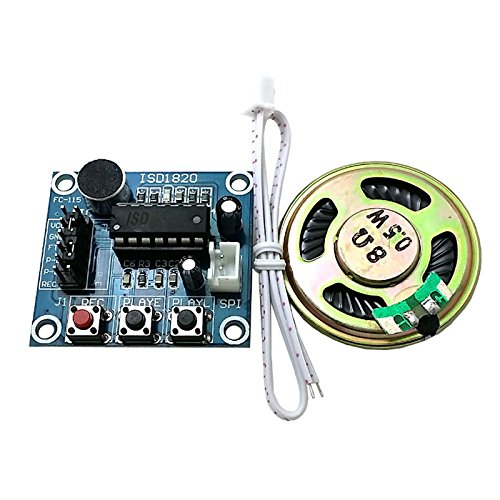 Purchase SUNKEE ISD1820 Recording Module Voice Module The Voice Board telediphone Module Board with ...