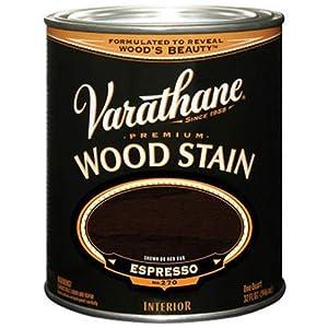 Rust-Oleum 241412H Varathane Oil Base Stain, Quart, Espresso ...