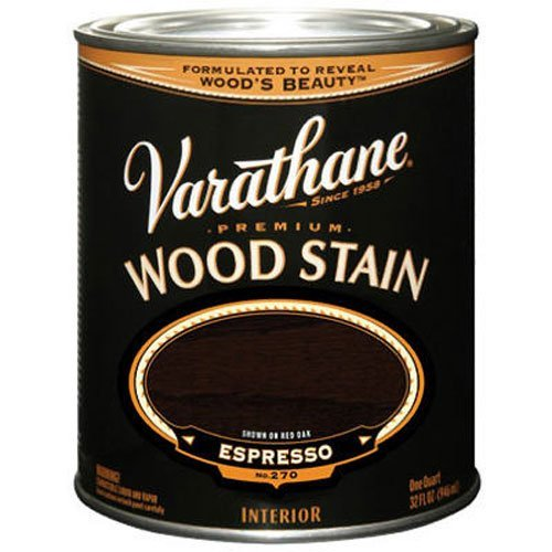 Varathane 241412H Premium Wood Stain, Quart, (Oil Wood Stain)