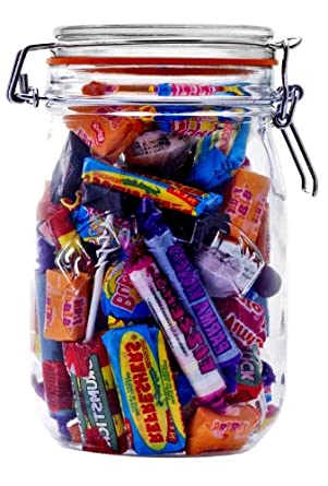 Image result for jars filled with sweets