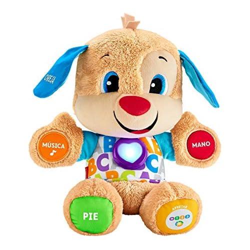 chollos oferta descuentos barato Fisher Price Perrito primeros descubrimientos juguete bebé 6 meses Mattel FPM53
