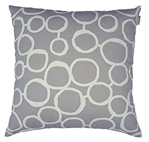 Cotton Throw Pillow Inserts : Amazon.com: JinStyles Cotton Canvas Circle Accent Decorative Throw Pillow Cover (Grey & White ...
