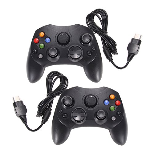Chinatera Lot 2 Black Wired Controller Game Pad Microsoft for sale  Delivered anywhere in Canada