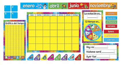 TREND enterprises, Inc. Calendario Anual (SP) Bulletin Board Set T-8097