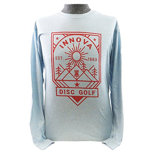 Innova Disc Golf Camp Long Sleeve T-Shirt - Light Blue - XL ()