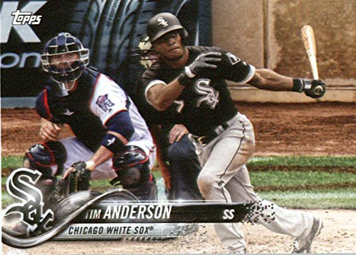 2018 Topps Factory Team Sets Chicago White Sox #WS-5 Tim Anderson Chicago White Sox Baseball Card