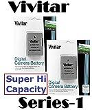 2-Pc Hi Capacity Vivitar 2300mAh EN-EL14a EN-EL14 Li-Ion Battery For Nikon D3400