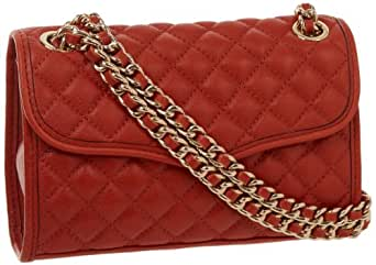 Rebecca Minkoff Mini Affair-Quilted H324I001 Shoulder Bag,Bitter Sweet,One Size