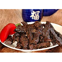 BEST Natural Style Thick Strips 3.25 OZ. Mild Smokey Flavor Beef Jerky - No Preservatives High Protein Low Carbs - Kids Favorite by Climax Jerky - Buy Multiple Packs & Save! (Teriyaki 1 Pack)