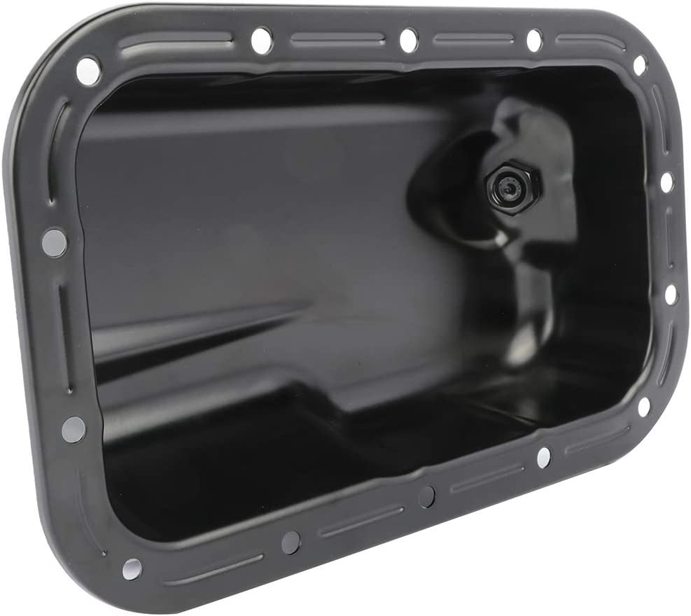 FINDAUTO Engine Oil Pan for 2011-2016 C-hrysler 300 D-odge Challenger Charger J-eep Wrangler 3.6L Oil Sump Pan with OE 5184546AC 103410 Oil Drip Pan Oil Change Pans