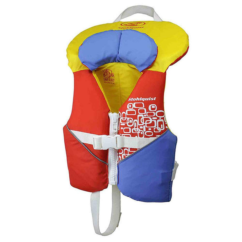 Stohlquist Infant Pfd Orange/Yellow One Size by Stohlquist Waterware