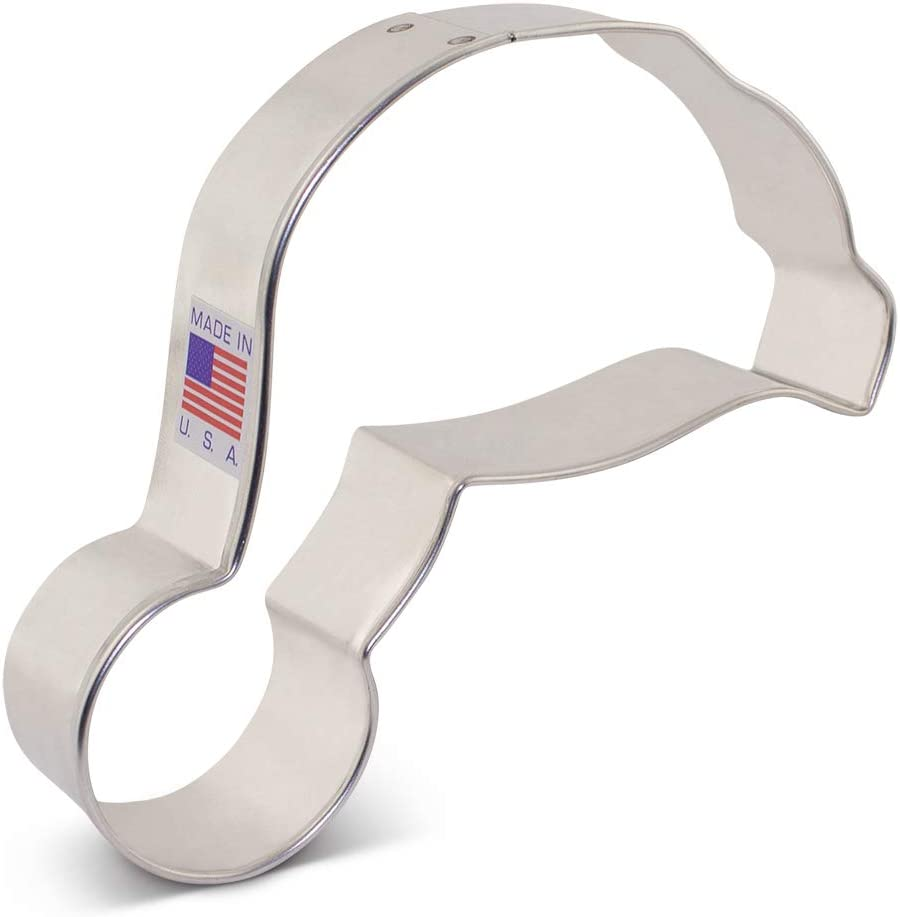 Ann Clark Cookie Cutters Santa Hat Cookie Cutter, 4.25""