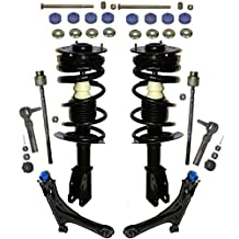 Prime Choice Auto Parts SUSPKG894 Set of 2 Complete Front Strut 2 Lower Control Arms 2 Sway Bar Links with 2 Inner and 2 Outer Tie Rods