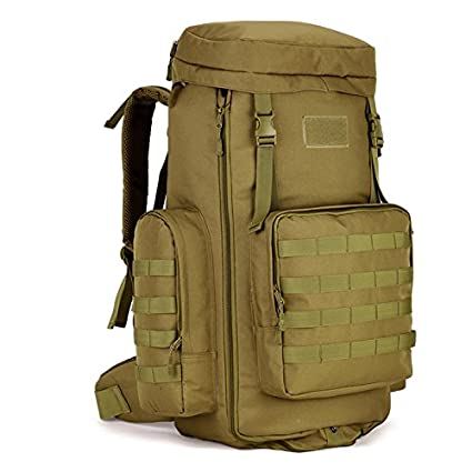 4cbbbe9c58ed Image Unavailable. Image not available for. Color  Military Tactical  Backpack Waterproof Backpacks Mountaineering bags ...