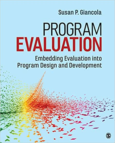 Program Evaluation: Embedding Evaluation into Program Design and Development - Original PDF