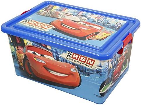 Stor Caja DE ORDENACIÓN 23 L. Cars Neon Racers Cup: Amazon.es: Hogar