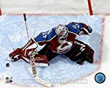 Patrick Roy - Overhead Action Photo 14 x 11in
