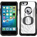Oregon - Gray Jersey design on Black OtterBox Commuter Series Case for iPhone 6 Plus and iPhone 6s Plus