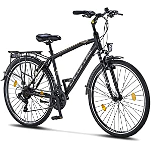 51yNVCjOtwL. SS300 Licorne Bike Premium Trekking Bike in 28 pollici – Bicicletta per uomo, ragazzo e uomo – cambio Shimano 21 marce – City Bike – Bicicletta da uomo – Life M-V-ATB