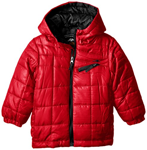 Boys' Puffer Pacific Trail Red Quilted Lightweight Big Coat Zfq7qwE