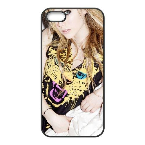 Avril Lavigne Fhm Australia Other coque iPhone 4 4S cellulaire cas coque de téléphone cas téléphone cellulaire noir couvercle EEEXLKNBC23265