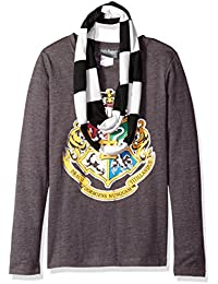 Girls Hogwarts Long Sleeve T-Shirt With Scarf. Harry Potter