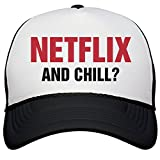 Customized Girl Netflix and Chill Hat: Snapback Trucker Hat