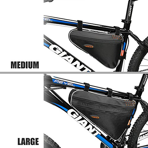 Ibera Bicycle Triangle Frame Bag, Medium