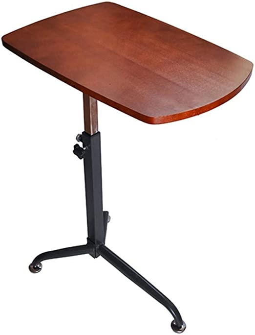 Srjh-Table Escritorio de la computadora portátil de Madera Maciza ...