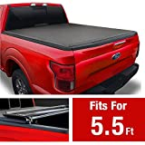 MaxMate Soft Tri-Fold Truck Bed Tonneau Cover for 2009-2014 Ford F-150 | Styleside 5.5' Bed
