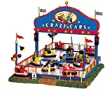 Lemax Carnival Village Animated Crazy Cars #64488