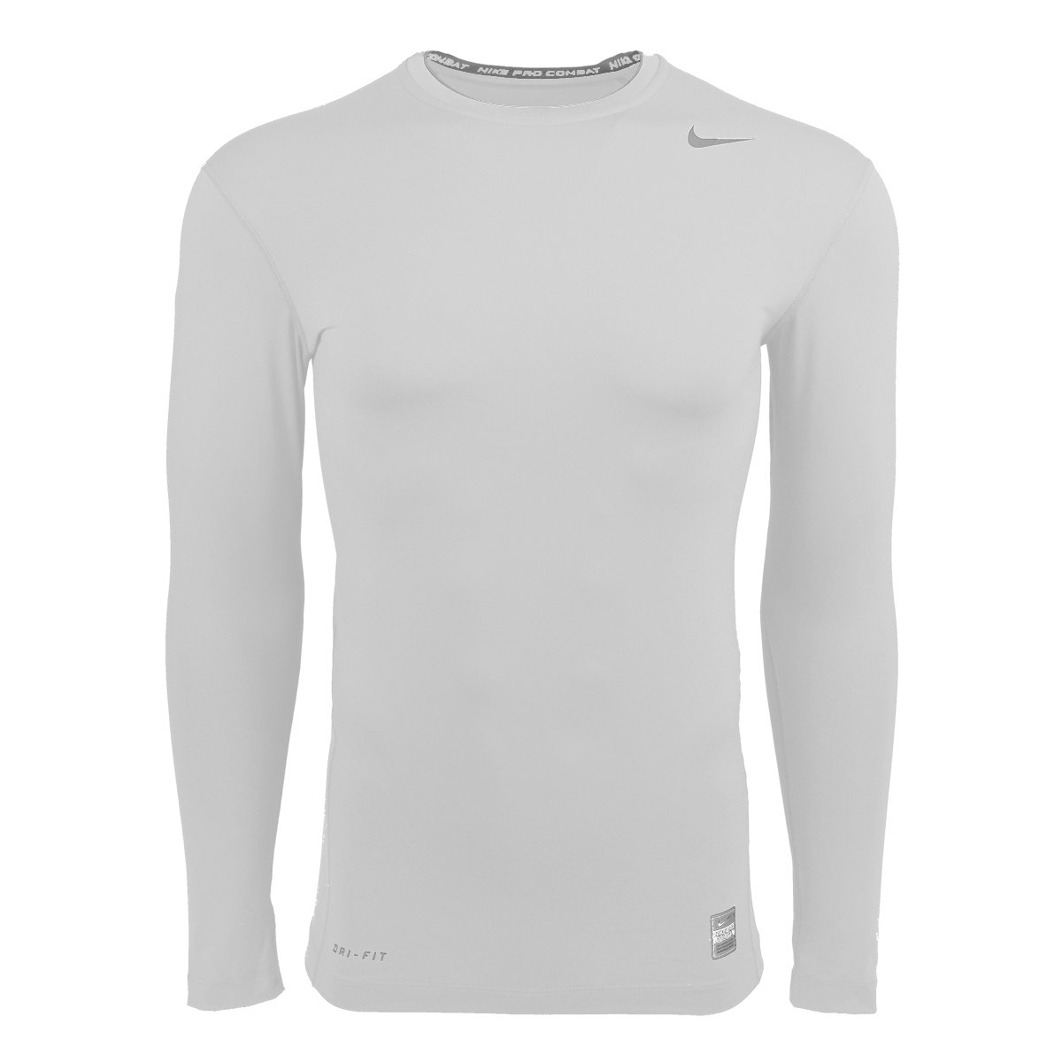 226e8c0759b2 Amazon.com  Nike Men s Pro Combat Core Compression Long-Sleeve Shirt -  White  Clothing