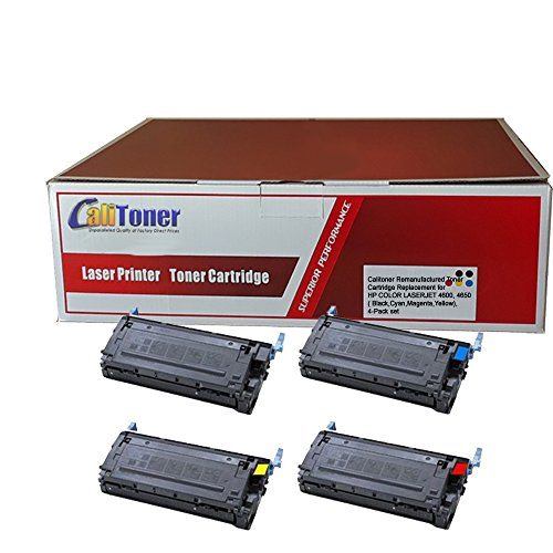Calitoner Remanufactured Toner Cartridge Replacement for HP
