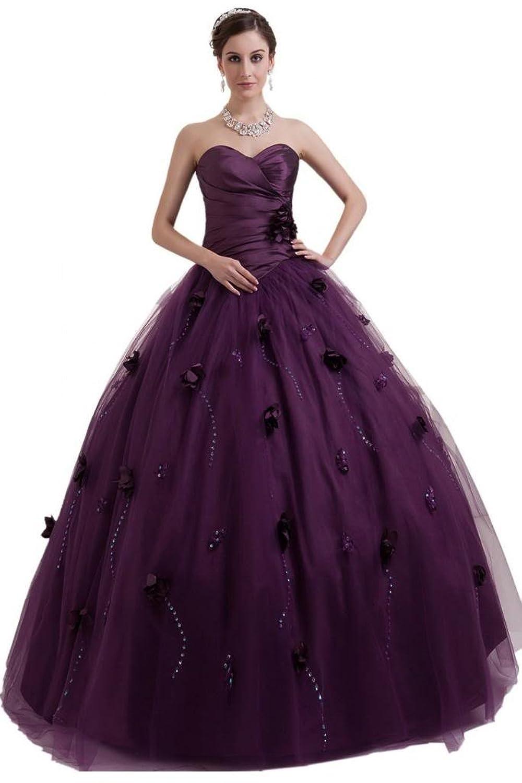 Sunvary Strapless Draped Ruffle Side Zipper Rhinestone Bridesmaid Prom Gowns-26W-Daffodil