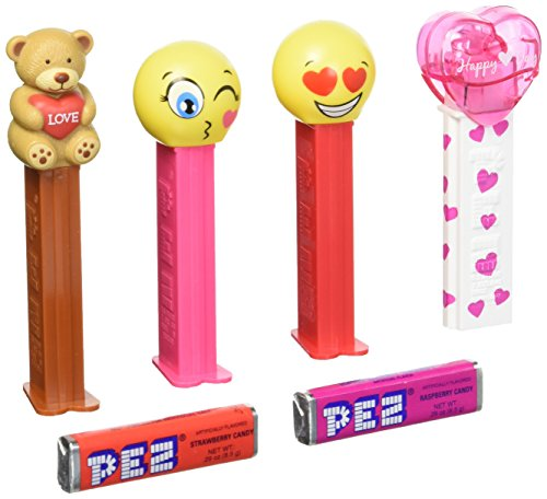 Pez Valentine's Day Candy Dispenser 12 Pack