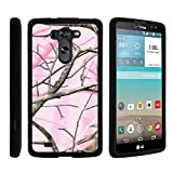 LG G Vista Phone Case, Perfect Fit Cell Phone Case Hard Cover with Cute Design Patterns for LG G Vista D631, LG G Pro 2 VS880 by MINITURTLE - Pink Hunter Camouflage