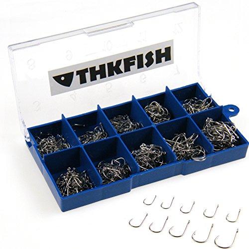 500pcs Cheap Small Size Silver Freshwater Fishhook Fishing Hooks Set