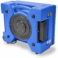 B-Air RA-650 1/3 HP 2.5 Amp HEPA Air Purifier Scrubber for Water Damage Restoration Negative Air Machine, Blue