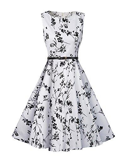 1960s Floral Dress - 4
