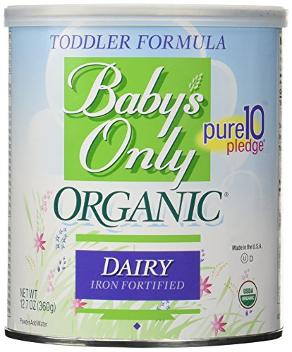 Baby's Only Organic Dairy Formula Toddler – 12.7 oz – Powder