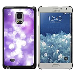 Be Good Phone Accessory // Dura Cáscara cubierta Protectora Caso Carcasa Funda de Protección para Samsung Galaxy Mega 5.8 9150 9152 // White Lilac Purple Reflection Bright Focus