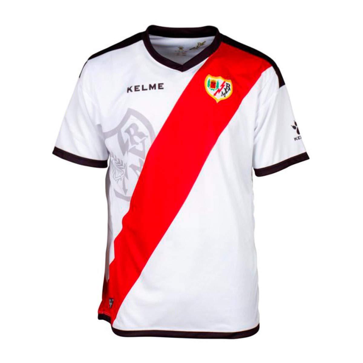 KELME Rayo Vallecano Primera Equipación 2018-2019, Camiseta, White ...