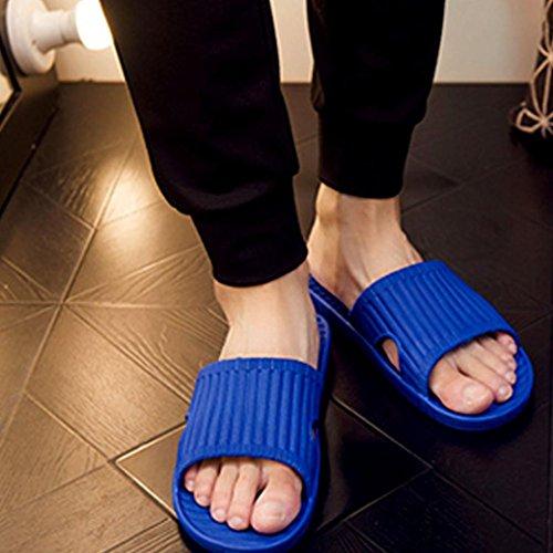 hunpta Men's Sandals, Men Summer Englon Antiskid Flip Flops Shoes Sandals Male Slipper Flip-Flops Blue