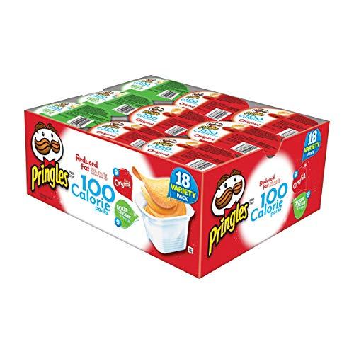 Pringles 2 Flavor Snack Stacks, 0.63 Ounce, 18 count (Salt Potato Low Chips)
